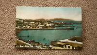 OLD 1930s POSTCARD, VIEW OF ADEN, POST OFFICE BAY STEAMER POINT 1