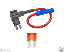 Micro 2 Blade  ATR FUSE PLUG Add a circuit Fuse Block Extension + 10A Fuse