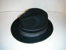 TOMMY BAHAMA hat fedora WOOL LARGE / XL  black  NEW