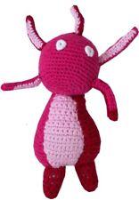 Handmade Amigurumi Magellan Baby Toy Stuffed Alien Crochet Girl