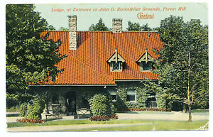 US 1913 Rockefeller Picture Postcard Perry's Victory Put-In-Bay Ohio Postmark Q