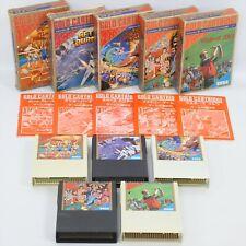 Lot of 5 Sega Mark III 3 Gold Cartridge Master System 0112 m3c