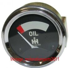 CASE IH OIL PRESSURE GAUGE OLD SMITH TYPE WITH MOUNTING STUDS 0-75PSI -709166R91