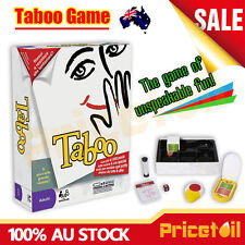 Taboo Family Fun Board Game Tabu Word Guess Adult Party Game Kid Educational Toy
