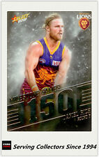 2018 AFL Footy Stars Trading Card Milestones Subset MG9 D.Rich (Brisbane)