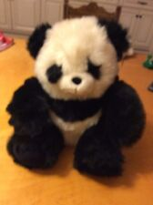 "Fiesta  Panda   VTG 1991 Stuffed Furry Plush 18"" T1"