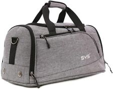 Sports Gym Bag  Duffel Bag Water Resistant Travel with Shoes Compartment