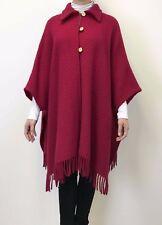 Pure Wool Cape, Wrap, Scarves, Ponchos, Coat, Shawls, Cloak, Cosy Jacket