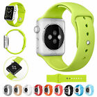 Replacement Silicone Wrist Bracelet Sport Band Strap For Apple Watch 38mm/42mm