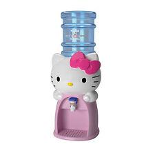 HELLO KITTY KIDS MINI WATER BEVERAGE DRINK DISPENSER DISPENSES 8 GLASSES NEW