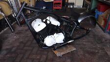 Honda Shadow VT 600 PC21 - Bobber Rahmen + Motor Umbau Chopper - gepulvert