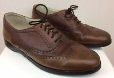 Men's Brassboot Shoes Oxfords Brown Genuine Leather Size 9 1/2 M