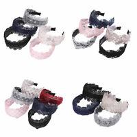 Boho Women's Lace Wide Headband Hairband Flower Hair Hoop Accessories Head Band