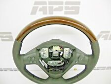 New GM 04-07 Cadillac CTS  leather Steering Wheel Genuine Burl wood grain