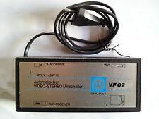 Autom. Video-Stereo Umschalter auf Camcorder, VCR, Sat-Receiver o. TV WISI VF 02