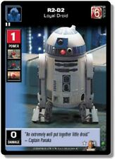 Star Wars Young Jedi CCG Jedi Council R2-D2, Loyal Droid # 11