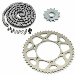 KTM EXC200 XC200 RK Oring Chain And Renthal Supersprox Stealth Sprocket Kit