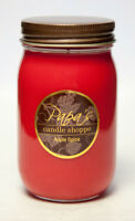 Papa's Candle Shoppe Apple Spice 16 oz Mason Jar, Highly Scented Soy Wax Candle!