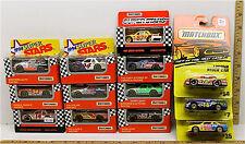 Vintage 13 Pc Matchbox Die Cast Car Lot 1994 Super Stars 1992 Grand National NIB
