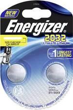 1 x 2er Blister x Energizer CR2032 Ultimate Lithium DR2032 CL2032 3V