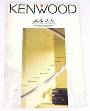 kenwood hi fi catalogo anni 90