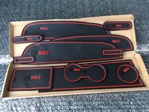 MG3 2011- 2018 INTERIOR DASHBOARD MAT GATE PAD TRIM SET (RED) - 14 PADS