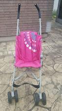 KOOCHI Pink Folding Buggy Pushchair Stroller