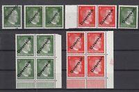 S4183/ AUSTRIA – SOVIET ZONE – MI # 660 - 662 MINT MNH INCL VARIETIES