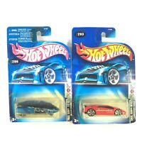 HOT WHEELS FINAL RUN #203 Lamborghini + #206 GM Lean Machine HTF Sealed NOS 2003