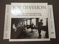 SEALED JOY DIVISION LIVE AT PARADISO CLUB LIMITED TO 500 COPIES LP LVY516