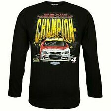 Kevin Harvick #4 Long Sleeve Championship T-shirt, X-Large