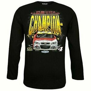 Kevin Harvick #4 Long Sleeve Championship T-shirt, 3X
