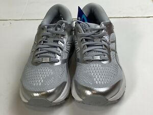 Asics Womens Grey & Silver Trainers