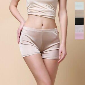 Women's 50% Silk Slip Shorts Petti pants Bloomer Knickers Panties Lingerie HY106