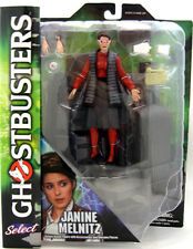 Janine Melnitz Ghostbusters Diamond Select with Diorama Action Figure 17cm