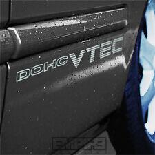 PAIR 99-00 Civic Si EM1 DOHC VTEC Decal Sticker B16a2 EK9 SiR SOHC JDM EX HONDA