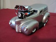 "Funline Muscle Machines Custom 1940 Ford Sedan Delivery 1/18 scale ""Slammed"""