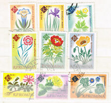 Romania Flora Flowers Plants set 1962
