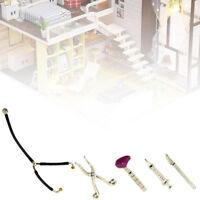 JT_ Cute Miniature Alloy Medical Equipment Set Dollhouse Accessories 1:12 Mode