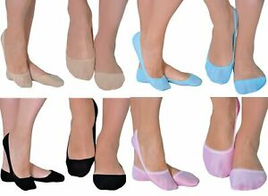 3 Pair Women Girls Plain Soft Invisible No Show Liners Footies Socks