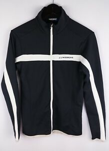 J.Lindeberg M Jarvis Women Track Jacket Activewear Leisure Black size S UK8