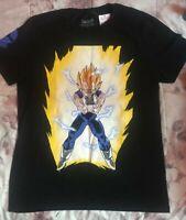 Dragon Ball Licensed Mens T-shirt - Vegeta Size Medium - NEW
