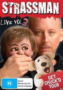 Strassman Live - Get Chuck'd Tour : Vol 3 - New & Sealed