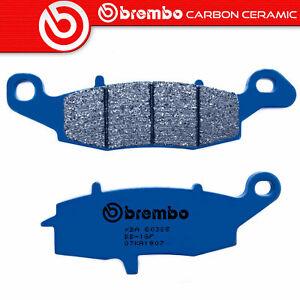 Brake Pads BREMBO Carbon Ceramic Front For Kawasaki VN 900 2006 >