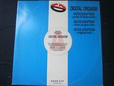 """RECORD 12"""" SINGLE DIGITAL ORGASM MOOG ERUPTION 414"""
