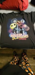 DISNEYLAND Halloween t shirt xl
