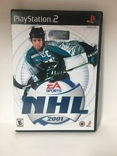 EA Sports NHL 2001 PlayStation 2 PS2 Game Complete With Manual