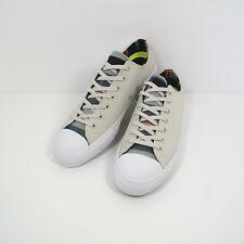 e0d1bfaa118 Converse Chuck Taylor All Star Leather Nike Lunarlon Men s 11.5 - White  Black