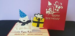 3D Pop Up HAPPY BIRTHDAY Boy Card.