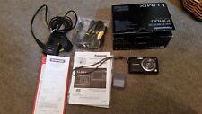 Panasonic LUMIX DMC-FX100 12.2MP Digital Camera - Black